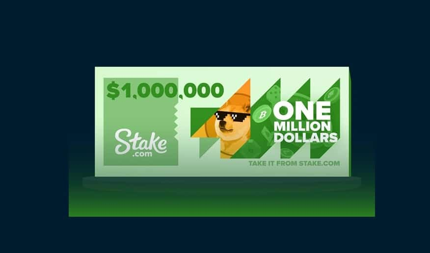 Stake Announces Wagering Race with $1 Million in Rewards