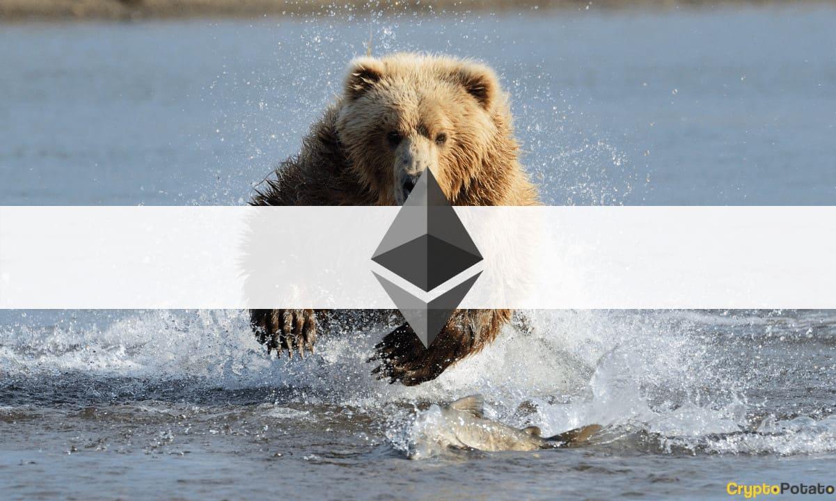 Crypto Market Cap Loses $250B in a Day as Ethereum Slumps Below $3,000 (Market Watch)