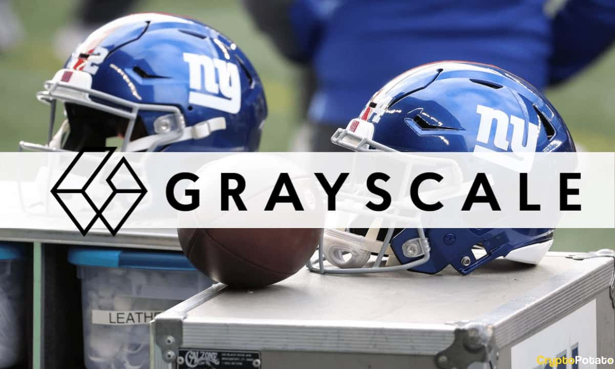 NFL's New York Giants Partner With Crypto Asset Manager Grayscale