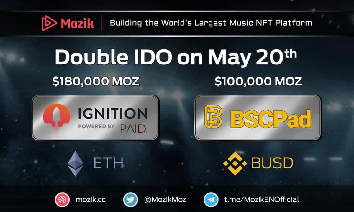 Mozik to Launch Double IDO on Ignition and BSCPad