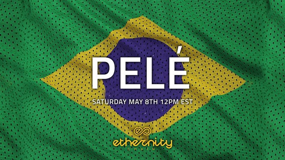 Legendary Pelé NFT Set to Drop on Ethernity May 8