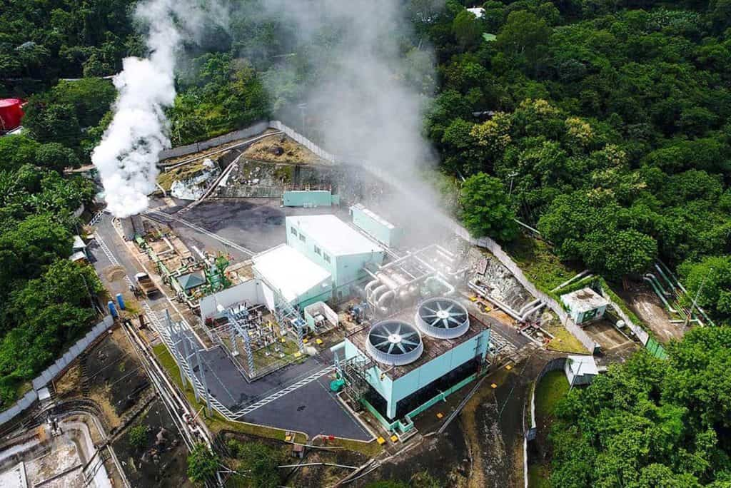 Geothermal plant in El Salvador that could be used to mine Bitcoin. Image: Nayib Bukele via Twitter