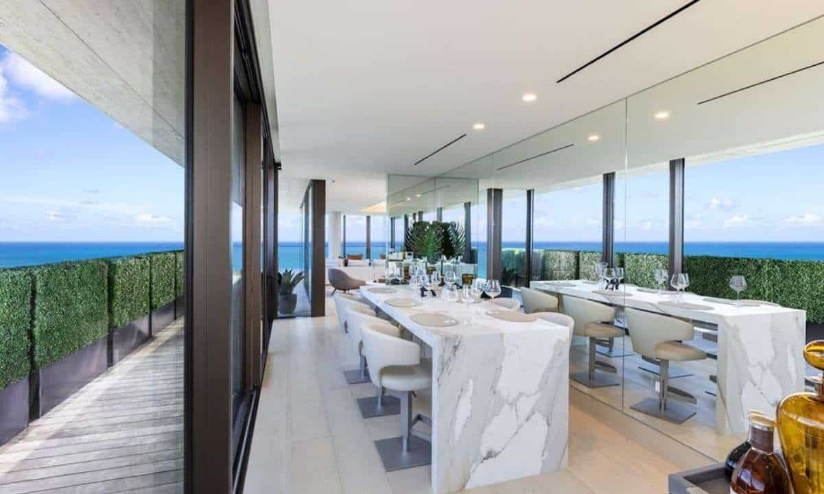 Most Expensive Cryptocurrency Real Estate Purchase: $22.5 Million Miami Penthouse
