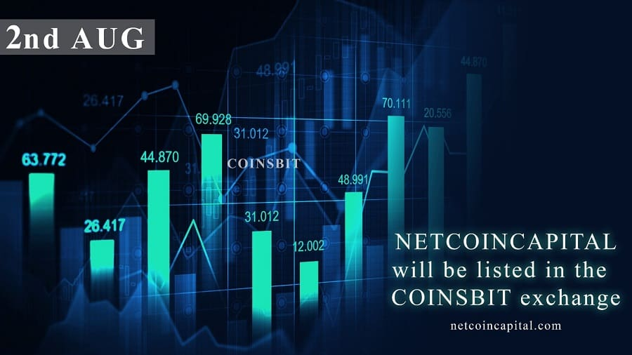 NetcoinCapital To Be Listed On Coinsbit Exchange