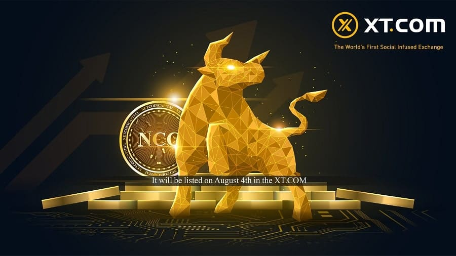 NetcoinCapital Token to be listed on XT Exchange