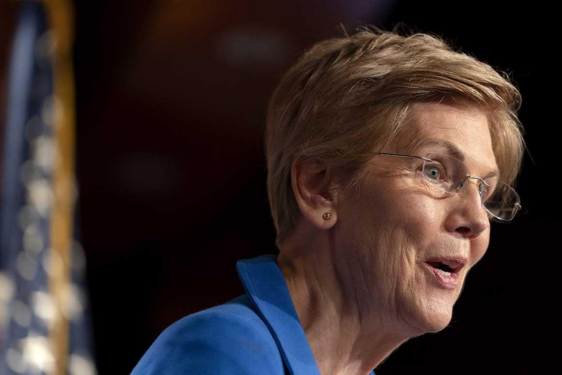 Sen. Elizabeth Warren. Source: Politico