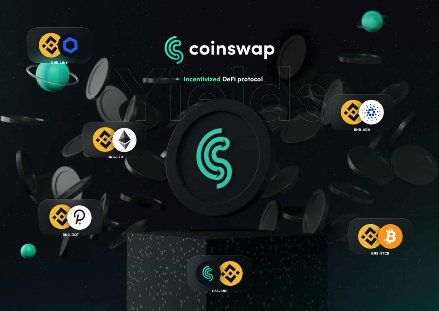 CoinSwap Space Adds Staking Pools With ADA Rewards