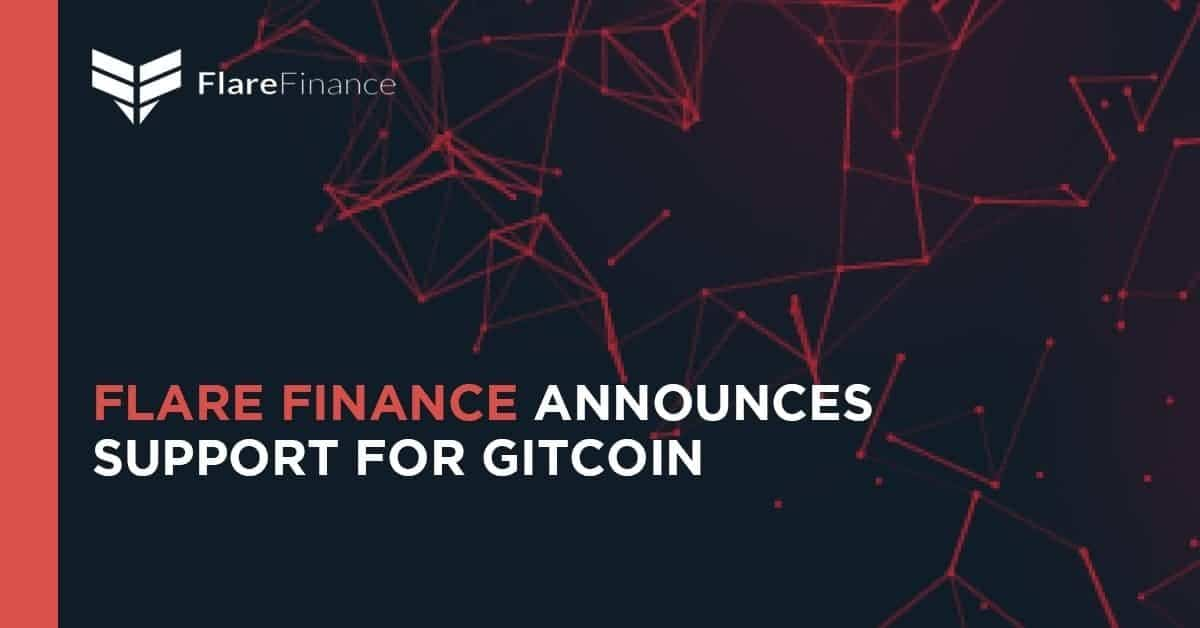 Flare Finance Announces Support for Gitcoin