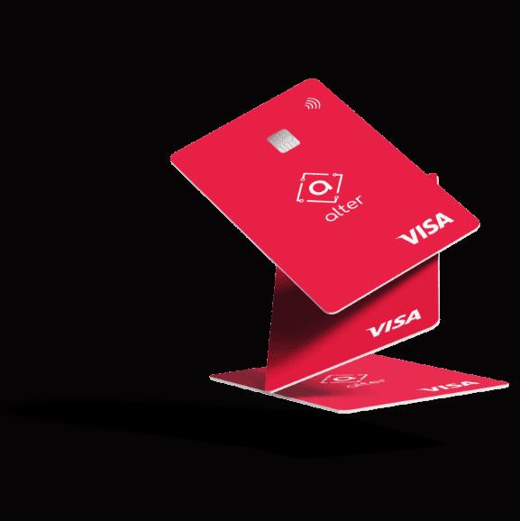 Thẻ Visa từ Ngân hàng Bitcoin của Brazil.  Hình ảnh: Ngân hàng Alter