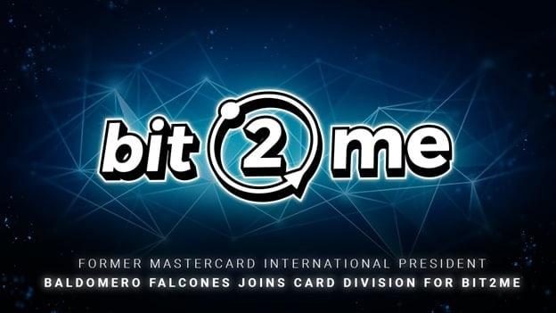 Former Mastercard International Baldomero Falcones Joins Card Division For Bit2Me