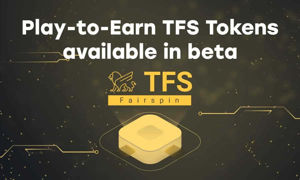 Fairspin Reveals the Launch of TFSbeta Token for Gamers