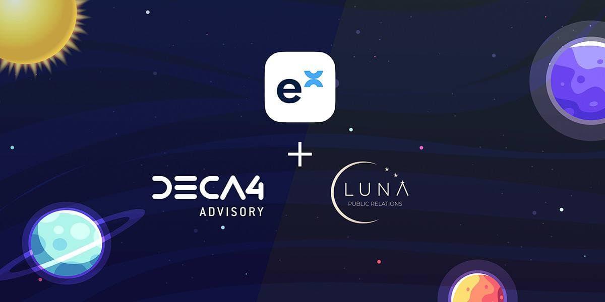 ExpX, DECA4 Partner with Luna PR