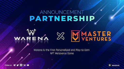 Warena Announces Partnership with Master Ventures – They're Ready to Become the Next Star Atlas