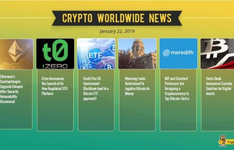 Crypto Market Update Jan.22: Bitcoin Stability Around $3500 In Anticipation For Some News