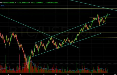 Bitcoin Chart Analysis Feb.19 and Overview