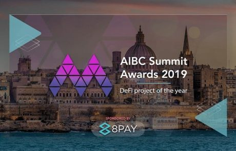 8Pay Sponsors DeFi Project of the Year 2019 Award at Europe's Largest Blockchain Conference