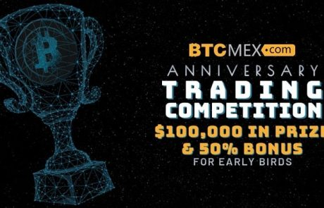 BTCMEX Launches a $100,000 Trading Competition to Celebrate 1 Year Anniversary