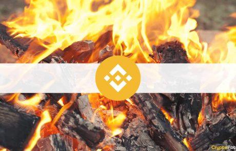 Binance Burns Almost $400 Million Worth of BNB, Price Unfazed