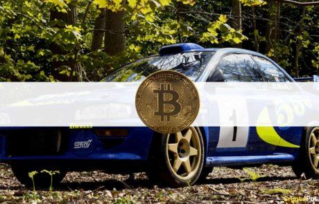 Colin McRae's Subaru Got Sold for $360,000 Worth of Bitcoin