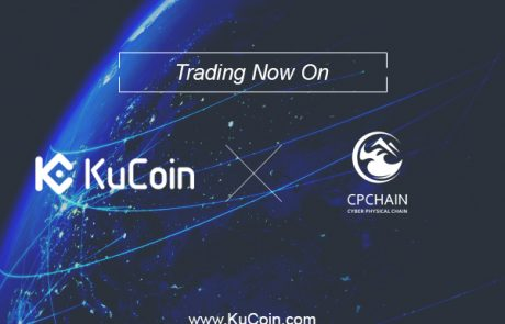KuCoin Listed CPC, The Native Currency Of CPChain