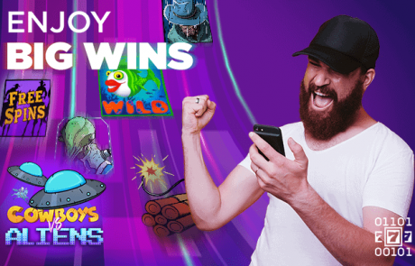 CryptoSlots Announces $100 Top Ups to Crypto Players for New B-movie-Inspired Game