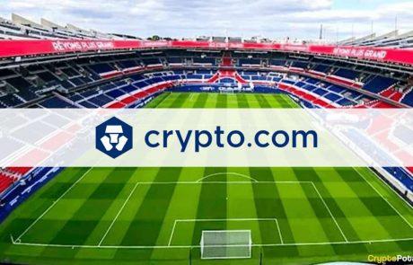 CryptoCom Becomes PSG's First Official Crypto Platform Partner