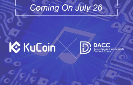 DACC Officially Announces Being Listed At KuCoin Cryptocurrency Exchange Market