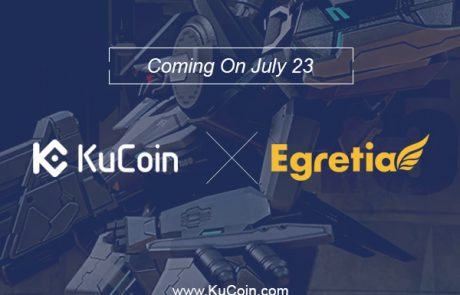 KuCoin Announces EGT As Part Of Their Growing List Of Potential Tokens