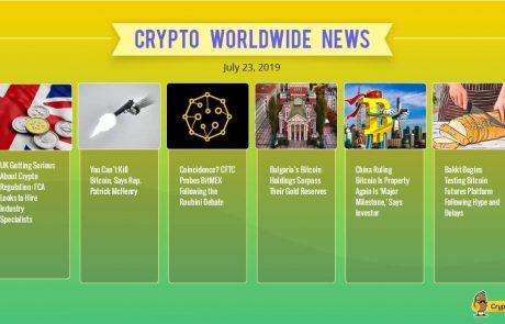 Regulators Step in as Bitcoin Breaks Below $10,000: Weekly Crypto Market Update
