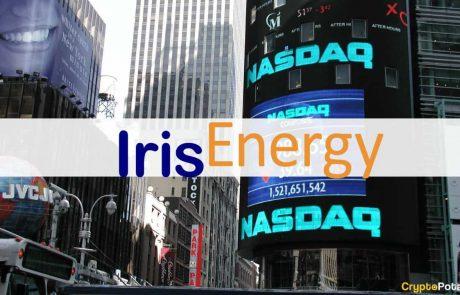 Aussie Green Bitcoin Miner Iris Energy Files with SEC to Go Public on Nasdaq