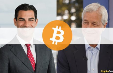 Miami's Mayor Opposes Jamie Dimon, Says Bitcoin Is Definitely Not Worthless