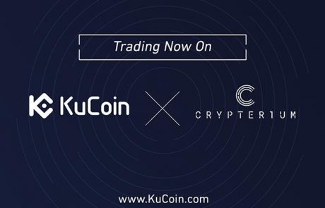 KuCoin Exchange Listed Crypterium's Transaction Currency CRPT