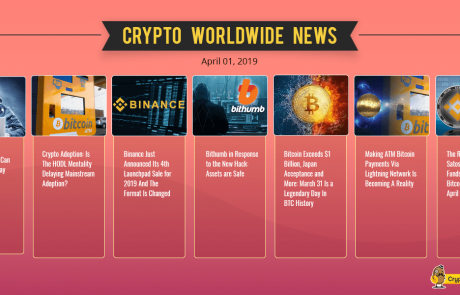Bitcoin Records 2019 High As Market Cap Surpasses $163B – Crypto Weekly Market Update April.2