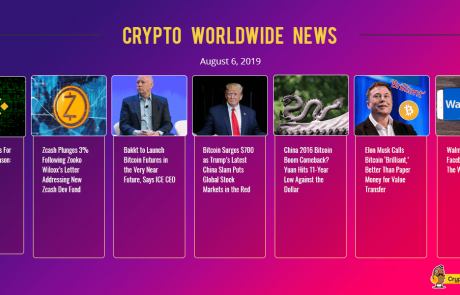 Crypto Market Update: Bitcoin Tops $12,000 as Global Markets Collapse on Trump's China Tariffs
