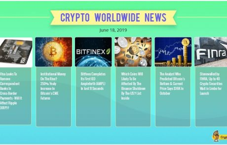 Facebook Libra Fuels The Crypto Hype As Bitcoin At $9,000 – Crypto Weekly Report & Overview