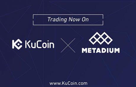 KuCoin Exchange Announces The Listing Of Metadium's Utility Token META