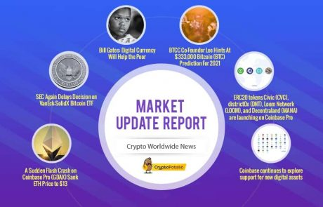 Crypto Market Update Dec.26: Positive Week For Bitcoin & Altcoins Following Positive News