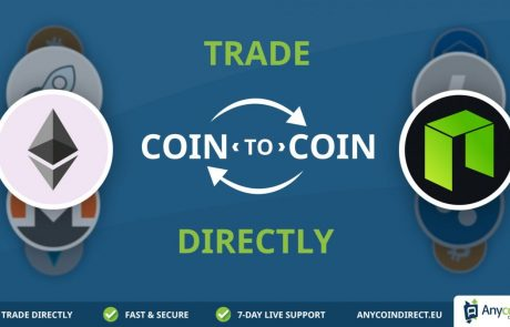 Anycoin Direct adds major new feature: Direct Coin-to-Coin Trading