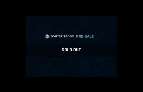 Barter Trade (BART) Announces: Token Pre-Sale Is Sold Out