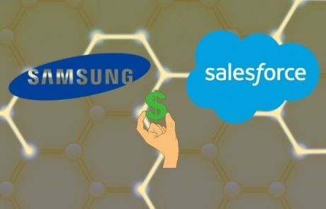 Samsung and Salesforce Participate In $35M Funding Round For Blockchain Company