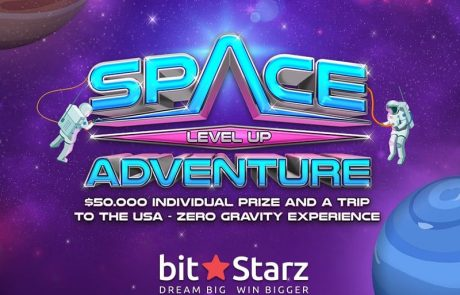 Zero Gravity Experience and 50K Prizes in BitStarz Space Level Up Adventure