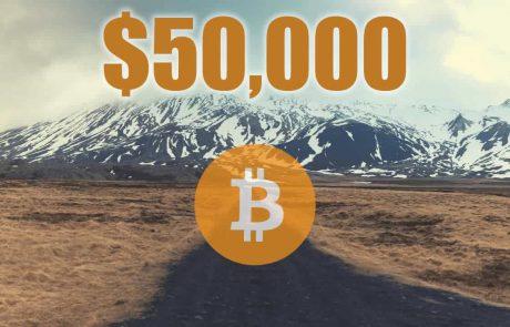 Bitcoin Tops $50K to Reach Fifteen Week High
