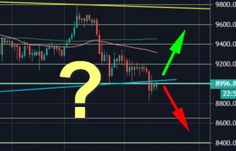 Bitcoin Price Analysis: Crucial Battle Over $9000 – Here Are The Good and The Bad News