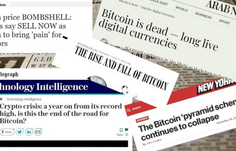 Mainstream Media Says Bitcoin Is Dead: Is It The Time To Buy?