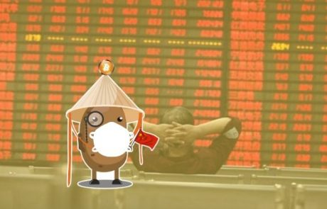 Safe Haven? Bitcoin's $350 Price Spike, While Chinese Stock Markets Reopen and Plunge 8%