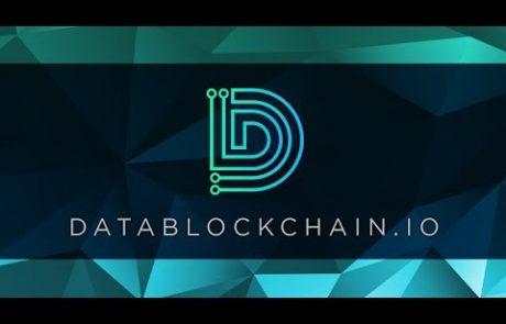 Datablockchain.io will create a single-point solution for the data market
