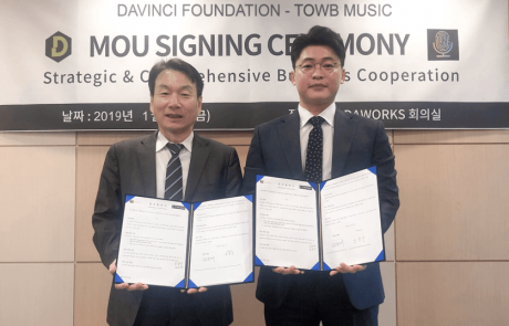 American Music Streaming TOWB Music and Davinci Foundation Sign MoU for Blockchain Integration Services