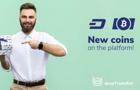 Bot rentals in DASH and BCH are now available at deepTradeBot