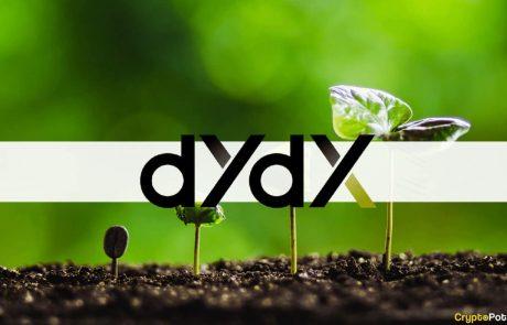 dYdX Trading Volum Surpasses Coinbase's: DYDX Paints New ATH