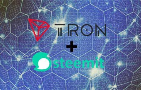 Largest Blockchain Social Media Steemit Joining TRON's Ecosystem